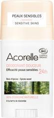 Акция на Дезодорант гелевый Acorelle органический Пряная свежесть 45 г (3700343040882) от Rozetka