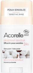 Дезодорант гелевый Acorelle органический Мягкий хлопок 45 г (3700343040851) от Rozetka