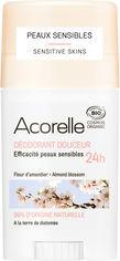 Дезодорант гелевый Acorelle органический Ароматный миндаль 45 г (3700343040868) от Rozetka
