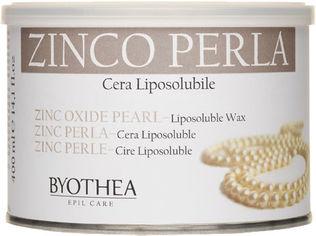 Воск для депиляции Byothea Cera Liposolubile Цинк и перламутр 400 мл (8054377035433) от Rozetka