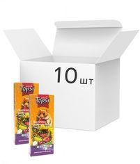 Упаковка корма для грызунов Topsi Фруктово-овощные палочки 100 г 10 шт (14820122208305) от Rozetka
