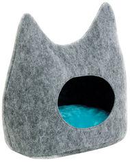 Дом-лежак Pet Fashion Дрим 44х28х45 см Серый (4823082406517) от Rozetka