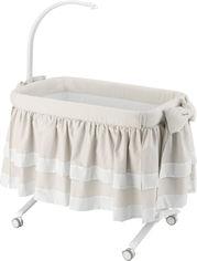 Приставная кроватка CAM Cullami Luxe с постелью Бежевая (925/926/T150) (8005549926080) от Rozetka