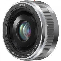 Объектив Panasonic Lumix G 20 mm f/1.7 II ASPH. Silver (H-H020AE-S) от MOYO