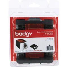 Монохромная лента BADGY для Badgy100/200 на 500 отпечатков (CBGR0500K) от Foxtrot