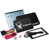 Акция на SSD накопитель KINGSTON KC600 256GB SATAIII Kit (SKC600B/256G) от Foxtrot
