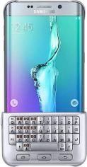Чехол-клавиатура Samsung для Galaxy S6 Edge+ (EJ-CG928RSEGRU) Silver от Територія твоєї техніки