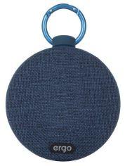 Акция на Портативная акустика Ergo BTS-710 Blue от Територія твоєї техніки