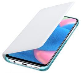 Акция на Чохол-книжка Samsung Wallet Cover для Samsung Galaxy A30s (EF-WA307PWEGRU) White от Територія твоєї техніки