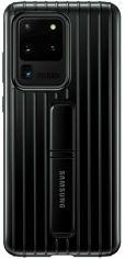 Накладка Samsung Protective Standing Cover для Samsung Galaxy S20 Ultra (EF-RG988CBEGRU) Black от Територія твоєї техніки
