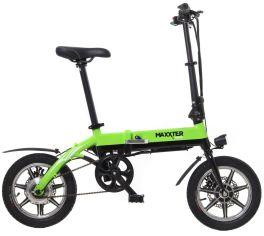 Акция на Электровелосипед Maxxter MINI Black/Green от Територія твоєї техніки