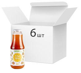 Упаковка сока тыквенно-грушевого Спориш Смузи на тыкве с мякотью и сахаром пастеризованного 1000 мл х 6 шт (4820216570304) от Rozetka
