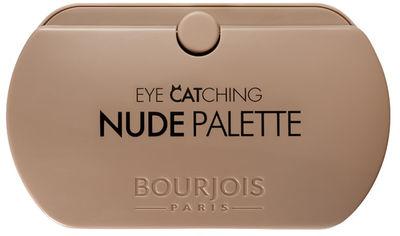 Палетка теней Bourjois Eye Catching Nude Palette 8 оттенков 4.5 г (3614225688157) от Rozetka