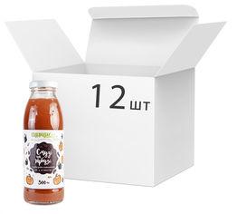 Упаковка сока тыквенно-еживичного Спориш Смузи на тыкве с мякотью и сахаром пастеризованного 300 мл х 12 шт (4820216570373) от Rozetka