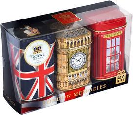 Набор черного чая Ahmad Tea Воспоминания из Лондона 150 г (54881011600) от Rozetka