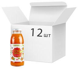 Акция на Упаковка сока тыквенно-смородинового Спориш Смузи на тыкве с мякотью и сахаром пастеризованного 300 мл х 12 шт (4820216570472) от Rozetka