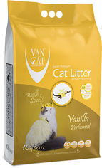 Наполнитель для кошачьего туалета Van Cat Super Premium Quality Vanilla Бентонитовый комкующий 10 кг (8699245856392) от Rozetka