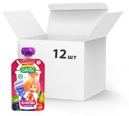 Упаковка детского пюре Фиксики Ягодный Микс смузи 110 г х 12 шт (4813163003599) от Rozetka