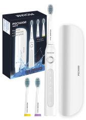 Электрическая зубная щетка PECHAM White Travel (0290119080332) от Rozetka