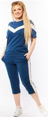 Костюм (футболка + капри) Primyana 277 54-56 Темный джинс (2000000044897) от Rozetka