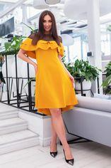 Платье Vojelavis 761 54 Горчичное (2000000361048) от Rozetka