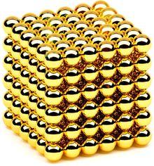 Магнитная игрушка головоломка Neocube 216 шариков 5 мм в боксе Золотая (2000992397667) от Rozetka