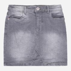Акция на Юбка джинсовая Minoti 2Dnmskrt 6 13213 152-158 см Серая (5059030327330) от Rozetka