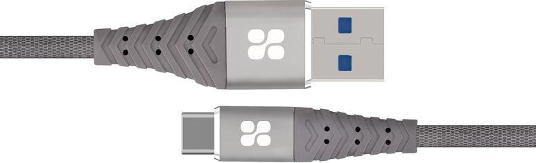 Кабель Promate NerveLink-C USB - Type-C 1.2 м Grey (nervelink-c.grey) от Rozetka
