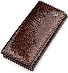 Акция на Кошелек ST Leather Accessories 18396 Коричневый от Rozetka