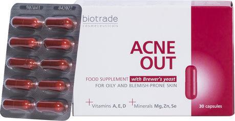 Витаминно-минеральный комплекс Biotrade Acne Out 30 капсул (3800221840716) от Rozetka
