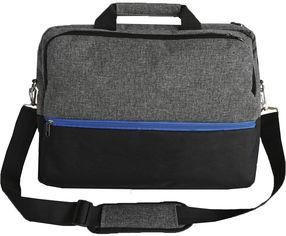 """Акция на Сумка для ноутбука Kodor Protection Oxford 600D 15.6"""" Grey/Black (Н0011) от Rozetka"""