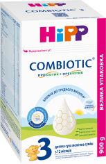 Акция на Детская сухая молочная смесь HiPP Combiotic 3 для дальнейшего кормления 900 г (9062300138792) от Rozetka