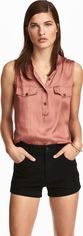 Блузка H&M KK4978565 36 Темно-розовая (2009900000453) от Rozetka