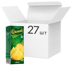 Упаковка нектара Сочный фрукт Ананас 0.2 л х 27 шт (4813538003858) от Rozetka