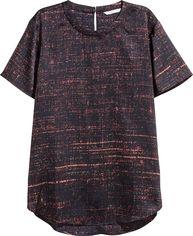 Блузка H&M KK5466636 40 Черная (2009900006431) от Rozetka
