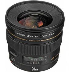 Объектив Canon EF 20 mm f/2.8 USM (2509A010) от MOYO