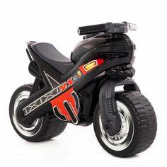 Толокар Polesie Черный мотоцикл MX (80615) от Будинок іграшок