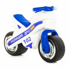 Акция на Толокар Polesie Полицейский мотоцикл MX (80622) от Будинок іграшок