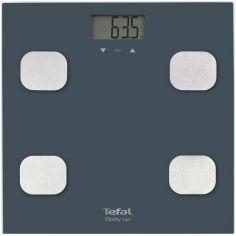 Акция на Весы напольные TEFAL BODY UP BM2520V0 от Foxtrot