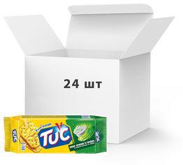 Акция на Упаковка крекеров Tuc Сметана и лук 100 г х 24 шт (7622210663115) от Rozetka
