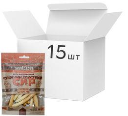 Упаковка сушеного сыра snEco Сулугуни копченый 40 г х 15 шт (4823095807608) от Rozetka