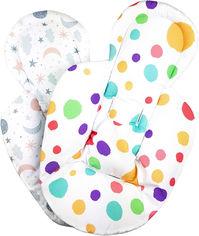Вкладыш для новорожденных Helissen для качалки 4Moms mamaRoo двухсторонний (4820148055719) от Rozetka