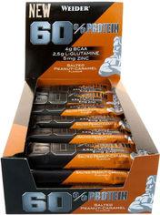 Протеиновый батончик Weider 60% Protein bar 45 г Salted peanut-Caramel 24 шт (4044782909270) от Rozetka