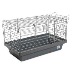 Клетка для грызунов Природа Кролик 51 x 30 x 28 см 50 Хром/серая (4823082415175) от Rozetka