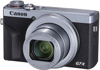 Фотоаппарат Canon Powershot G7 X Mark III Silver (3638C013) Официальная гарантия! от Rozetka