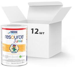 Упаковка детской смеси Nestle Resource Junior от 1 до 10 лет 400 г х 12 шт (7613033864926) от Rozetka