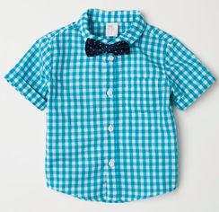 Рубашка H&M 5943697 68 см Бирюзовая (hm00350059639) от Rozetka