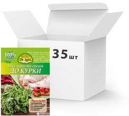 Акция на Упаковка микса трав и специй Dr.IgeL к курице 15 г х 35 шт (14820155170679) от Rozetka