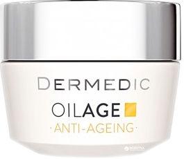 Акция на Крем дневной Dermedic Oilage Tri Oleum c фито Эстрогенами замедляющий старение кожи 40-60+ 50 г (5901643174521) от Rozetka