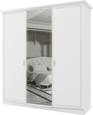 Шкаф Aqua Rodos Сан Ремо без зеркала Белый глянец (SRWARD3D-WHITE-GLOSS-NEW) от Rozetka